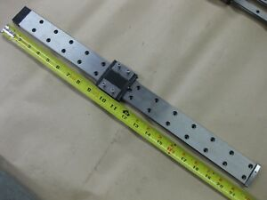 Thk Linear Guide Lm Rail Carriage Bearing Block 21 530mm Low Profile Rsh15wzm