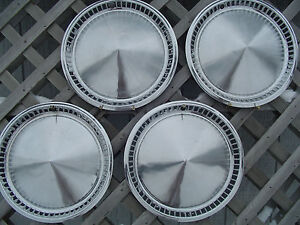 1957 Plymouth Fury Belvedere Satellite Hubcaps Wheel Covers Center Caps Rims
