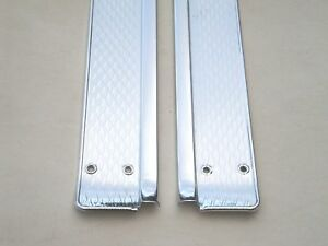 1952 1953 1954 52 53 54 Ford 4 Door Car Scuff Plates Front Only New