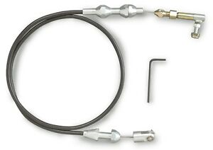 Lokar Tc 1000u36 Universal 36 Black Sleeved Throttle Cable Kit