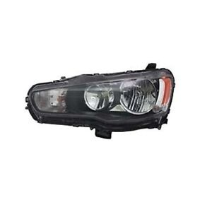 For 2009 2013 Mitsubishi Lancer Driver Side Halogen Headlight Head Light Lamp