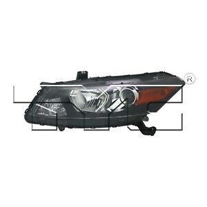 For 2011 2012 Honda Accord Coupe Driver Side Headlight Head Light Lamp Lh