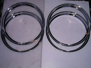 40 41 42 43 44 45 46 47 48 Mercury Ford Car Stainless Beauty Rings 16 Inch
