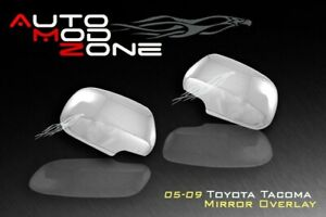 05 11 Toyota Tacoma 05 08 Sienna Chrome Side View Mirror Cover Covers