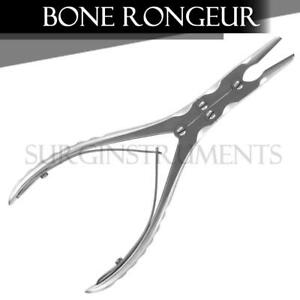 Double Action Bone Rongeur 6 15cm Slight Angled Jaw Surgical Ent Instruments