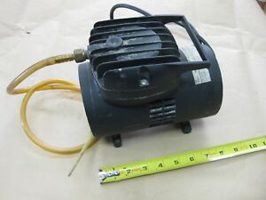 Thomas Vacuum Pump 905aa 146a 110vac Airbrush Portable Compressor