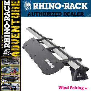 Rhino Rack Aerodynamic Roof Wind Fairing Air Deflector Kit 32 Inches Rf1