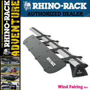 Rhino Rack Aerodynamic Roof Wind Fairing Air Deflector Kit 50 Inches Rf4