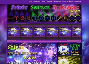 Custom Psychic Internet Radio Station Streaming Love Auto Dj Shoutcast Web Site