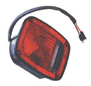 Left Tail Light With Black Housing For Jeep Cj5 Cj7 1976 1980 12403 03 Omix Ada