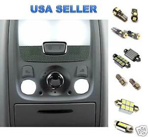 10pc White Led Lights Interior Package Kit For Audi A7 Canbus No Error