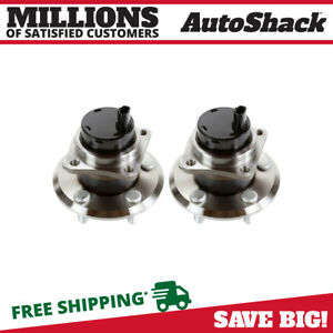 Pair 2 2003 2008 Toyota Corolla 2004 2009 Toyota Prius Rear Wheel Hub Bearing