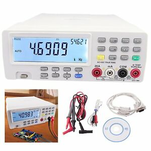 Vc8145 Vichy Digital Bench Top Multimeter Frequency Resistance Analog Bar Ohm
