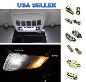 14pc Led Interior Lights Package Kit For Mercedes Benz W164 M class