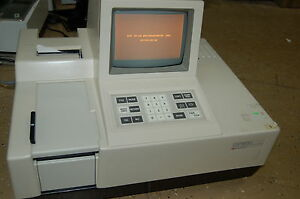 Shimadzu Uv160u Uv visible Recording Spectrophotometer