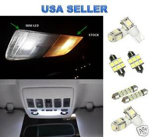 6pc Led Interior Package Kit For Toyota Corolla 2000 2012