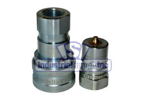 8 Sets Of 3 4 Iso 7241 1 B Hydraulic Quick Disconnect Couplers