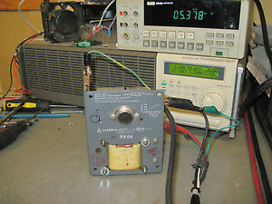Lambda Los z 15 Linear Power Supply 5v 1 4a manual Bench Tested Good