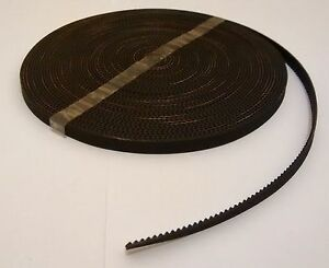 3d Printer Gt2 Timing Belt 2mm Pitch 6mm Width Reprap Rostock Mendel Prusa