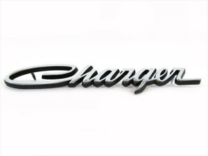 1966 1974 Dodge Charger Retro Decorative Emblem Nameplate Mopar Genuine Oem New