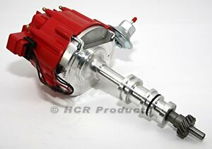 Big Block Ford Fe Hei Distributor Red Cap 50k Ignition Coil 390 428 360 427
