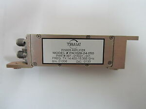 Terrasat Power Amplifiers 14 400 15 355ghz Pa1029 24 050 397 015001 001