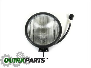 2005 2006 Jeep Wrangler Fog Lamp Light Replacement Mopar Genuine Oem Brand New