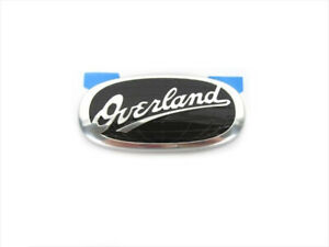 02 04 Jeep Grand Cherokee Chrome Black Overland Emblem Oem New Mopar