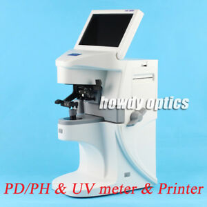 Auto Lensmeter Optical Lensometer Digital Lens Meter With Printer Pd