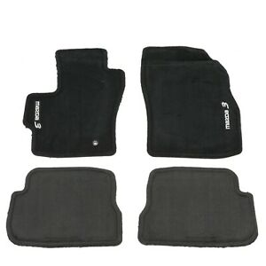2004 2009 Mazda 3 Black Carpet Floor Mats Genuine Oem New 0000 8b l03b 02