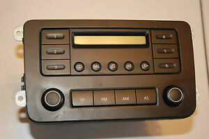 Vw Caddy Radio 1k0 035 153 C Blaupunkt