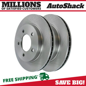 New Pair Of Front Left And Right Side Brake Rotors Fits 97 04 Ford F150