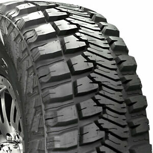 2 New Lt37x12 50 17 Goodyear Wrangler Mt r Kevlar Mud 1250r R17 Tires Lr D