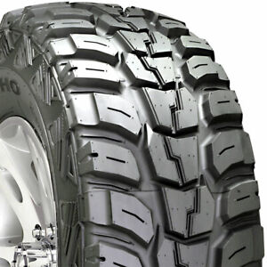 4 New Lt33x12 50 15 Kumho Road Venture Mt Kl71 Mud 1250r R15 Tires Lr C