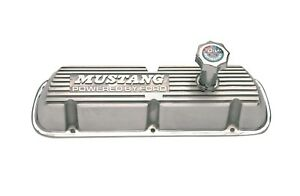 Ford Racing M 6000 F302 Valve Covers Fits 86 93 Mustang