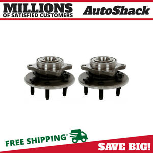 Rear Wheel Hub Bearing Pair For 2003 2005 2006 Ford Expedition Lincoln Navigator