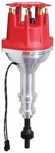 Msd Ignition 8578 Pro Billet Small Cap Distributor Ford 351w Requires Msd Box