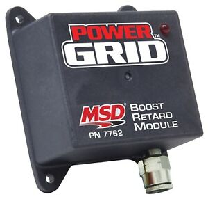Msd Ignition 7762 Power Grid Ignition System Boost Retard Module