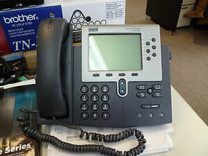 Cisco 7960 Series Ip Phone Used