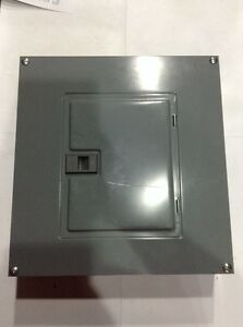 Bx15 Square D Qo Load Center 100 Amp 240v 12 Circuit Breaker Cover Qoc12us New