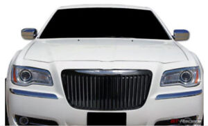 Fits 2011 2014 Chrysler 300 Black Chrome Grille Vertical Bar Bentley Grill