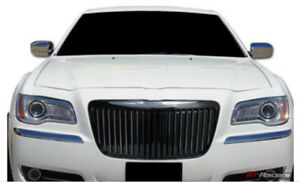 2011 2014 Chrysler 300 Black Chrome Grille Vertical Bar Bentley Grill