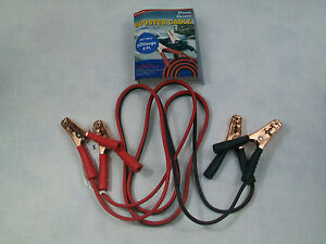 Brand New Prime Guard 8 Booster Jumper Cables 10 Gauge Fast Free Shipping