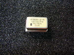 Raltron Vcxo Voltage Controlled Crystal Oscillator 125 000mhz 6 pin new Qty 1