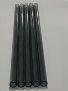 20 Piece 11 12 Pyrex Glass Blowing Tubing 10mm Od 6mm Id Thick Wall Tubes