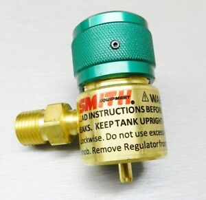 Smith Little Torch Regulator Preset Oxygen 249 499b For Use With Disposable Tank