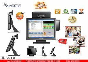 15 All In One Touch Screen Pos System Restaurant Retail Point Of Sale
