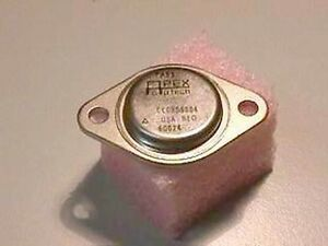 Apex Pa83 300v 0 075a High Voltage Power Op Amp To 3 Package