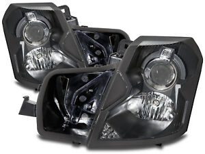 Headlights Halogen Set Left Right Pair Fits 2003 2007 Cadillac Cts