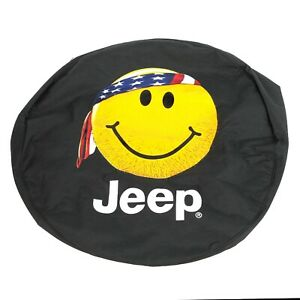Jeep Spare Tire Cover Fits Sizes P255 75r17 Lt255 75r17 P255 70r18 Oem New Mopar